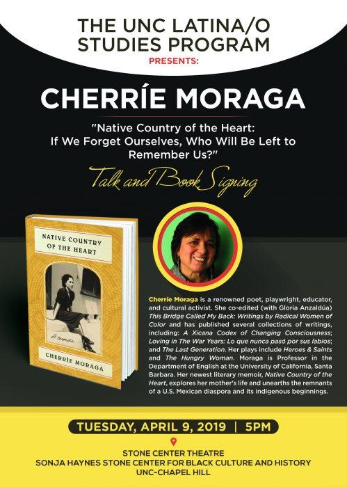 Cherrie Moraga Flyer