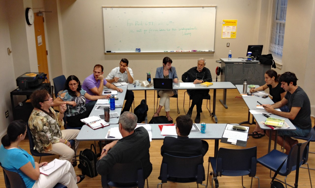 Picture of Jewish Latina/o Cultural Production Working Group Meeting