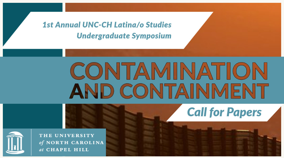 """LSP Undergraduate Symposium """"Contamination and Containment: Call for Papers"""""""